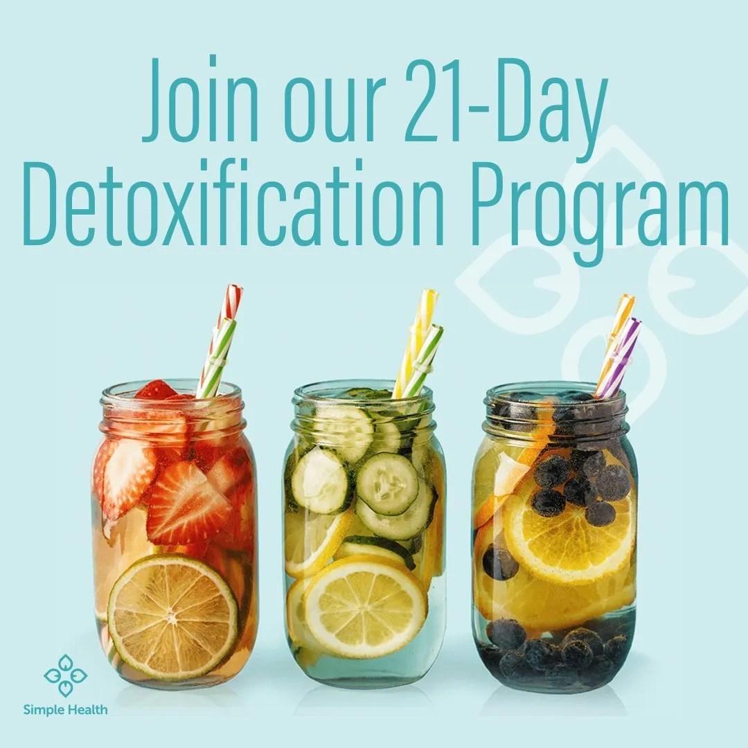 Join OUr 21-Day Detoxification Program