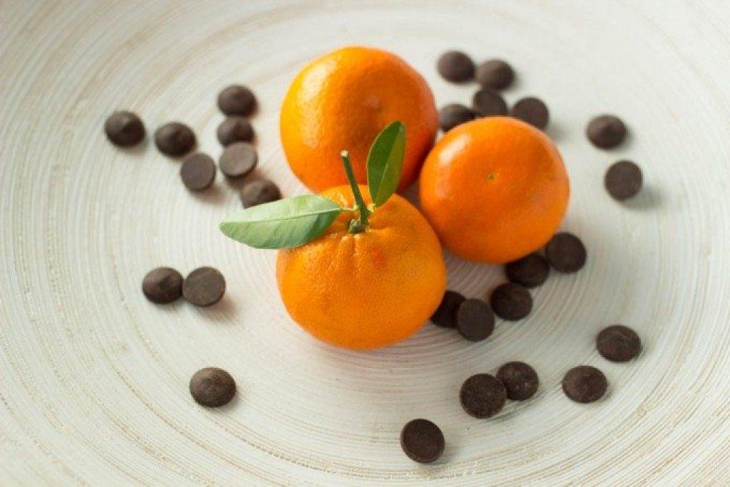 mandarin and chocolate