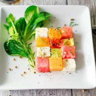 Summer Salad Squares