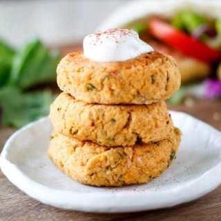 Healthy Oven Baked Falafel