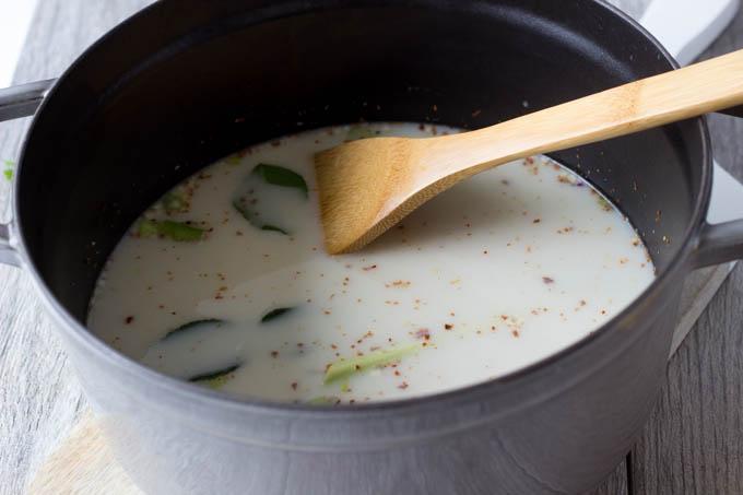 coconut  for one pot peanut noodles
