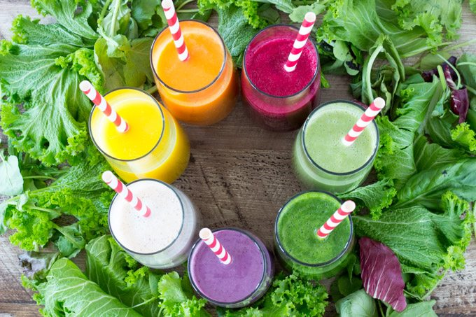 7 Healthy Smoothies -SimpleHealthyKitchen.com -1