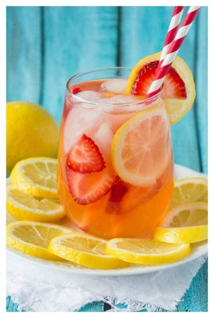 strawberry lemonade sugar-free