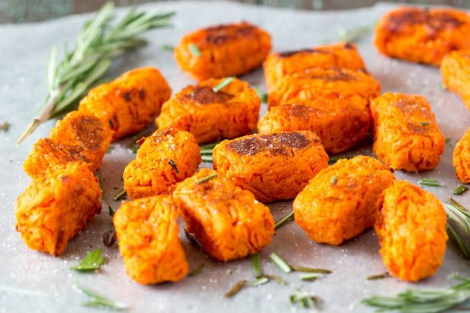 Sweet Potato Tots- simplehealthykitchen.com