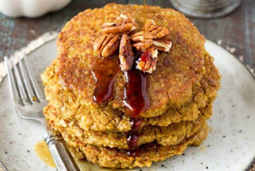 pumpkin spice pancakes fg
