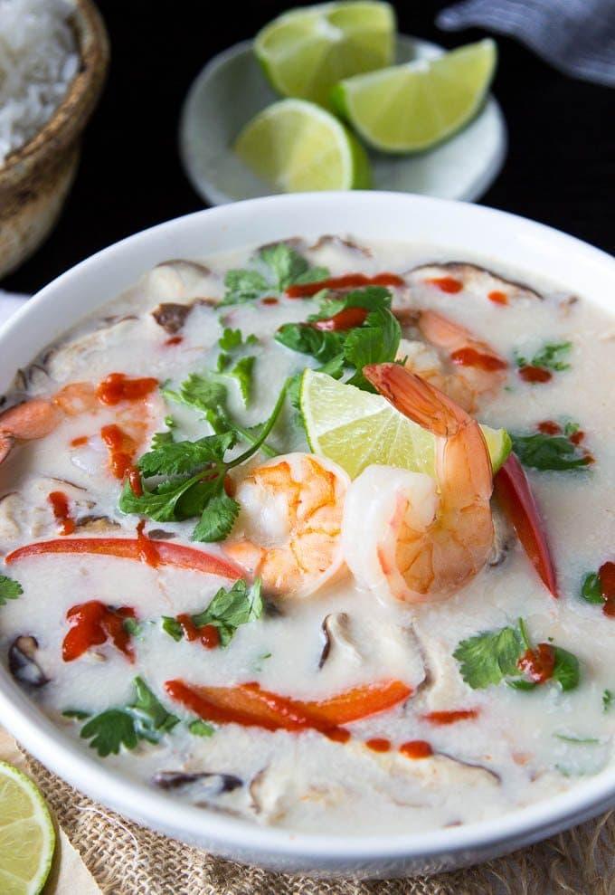 Quick + Easy Tom Kha Soup
