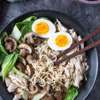 Healthy Bone Broth Ramen ( Quick and Easy)
