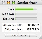 monitor os x bandwidth with surplusmeter