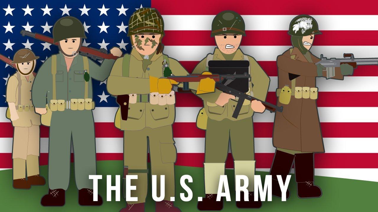 Characters Cartoon World 2 War