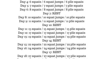 30 day jump rope challenge