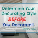 What's Your Decorating Style?