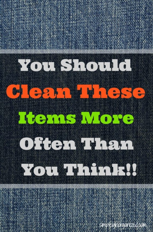 10 Items You Should Clean More Often