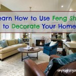 Decorate Your Home Using Feng Shui