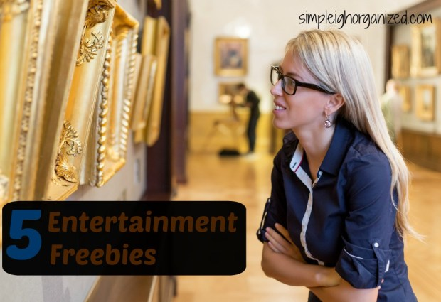 5 entertainment freebies