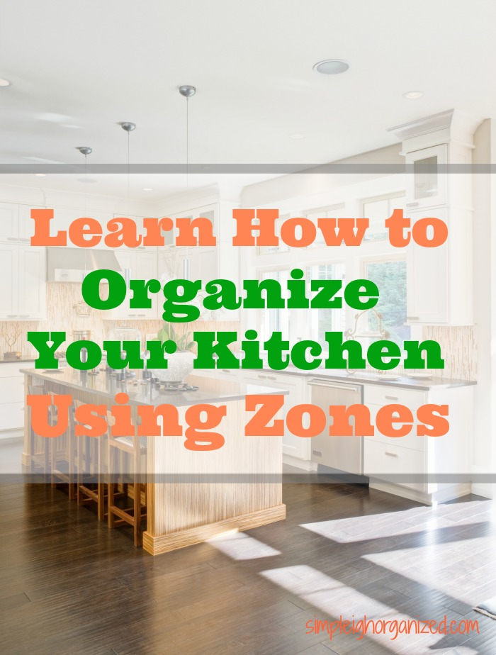 Organize Your Kitchen Using Zones