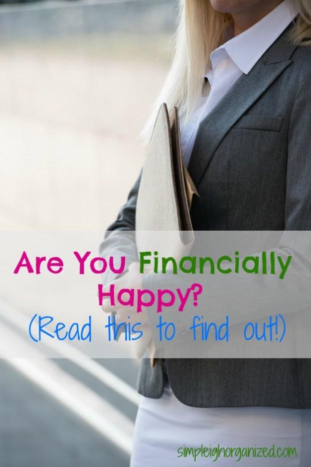financially happy