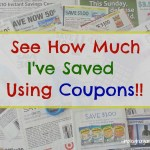 See How Much Money I've Saved Using Coupons