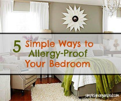 Allergy-Proof Your Bedroom