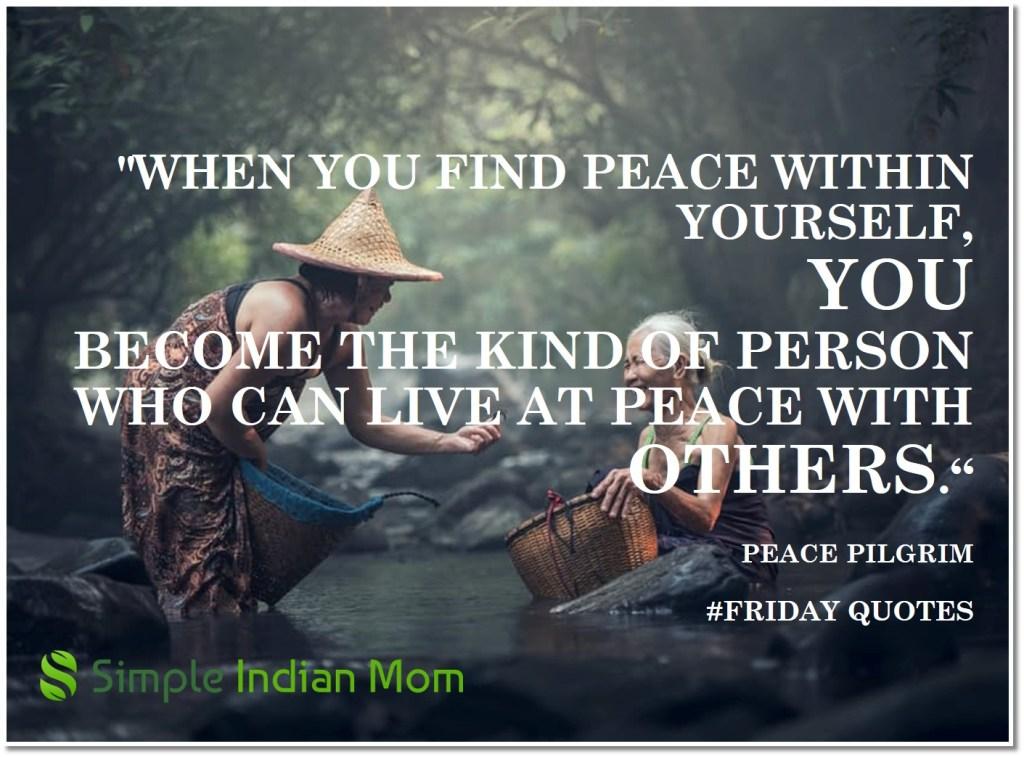 #FridayQuotes Minfulness