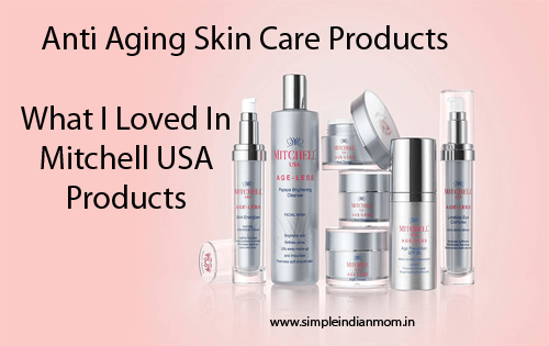 Mitchell USA Anti Aging Skin Care Product