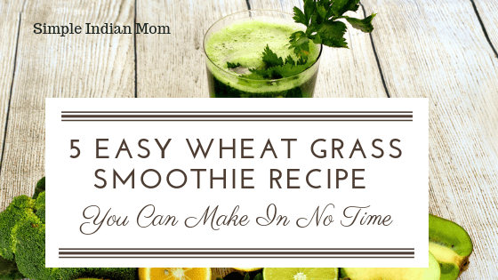 5 Easy Wheat Grass Smoothie Recipe You Can Make In No Time
