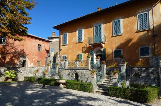 Montestigliano is a compound of historic villas.