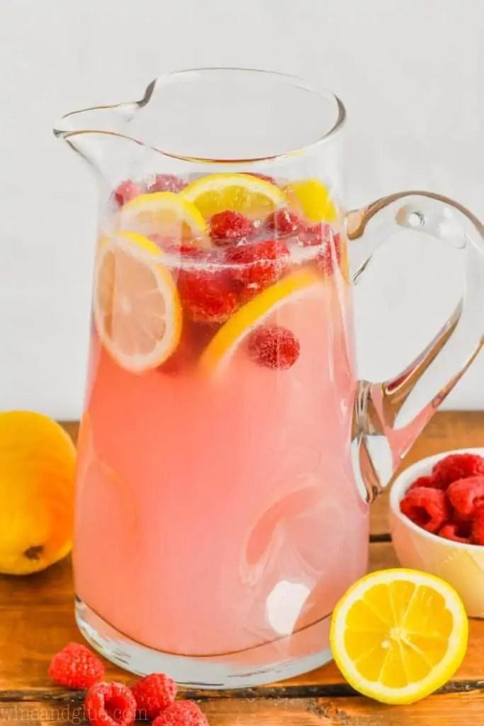 Pink Vodka Lemonade Cocktail