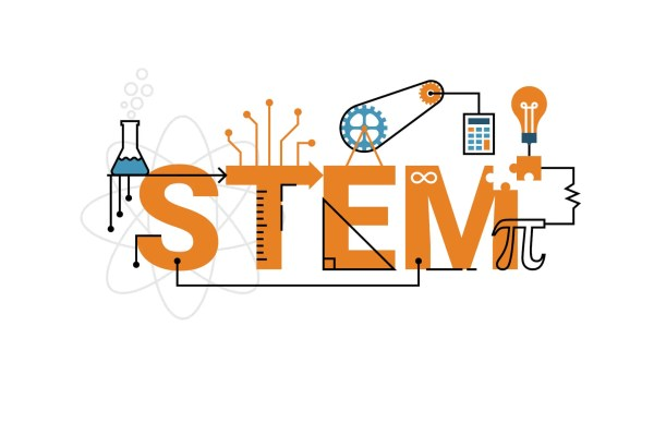 Stem Education Clip Art