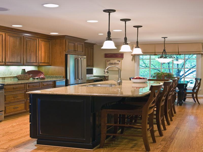 kitchen island designs with seating wooden toy five design ideas on a budget