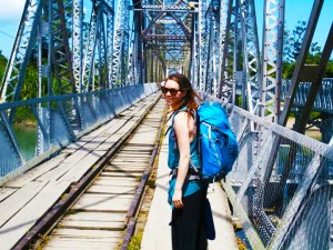 britt on bridge