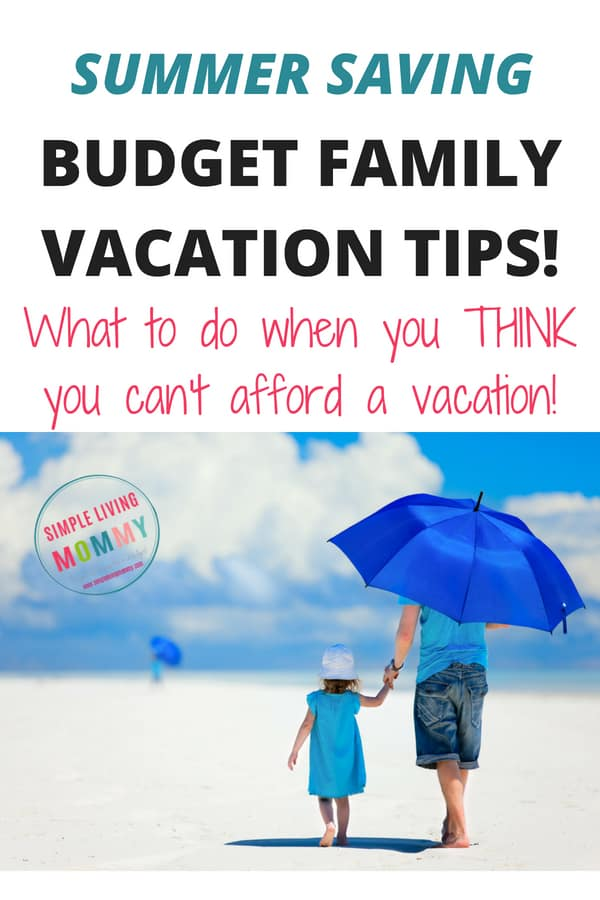 Think your family can't afford a vacation? With these budget family vacation tips you can plan a cheap family trip on a tiny budget!