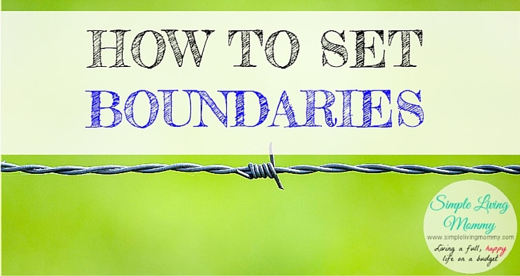 Learning how to set boundaries with the people in your life is so important. This blogger explains how to handle situations to get the respect you deserve without feeling guilty.
