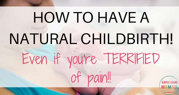 Pregnant and considering natural childbirth but terrified of the pain? This mom shares her best pain management tips for natural childbirth that got her through labor and delivery TWICE with no pain medication!