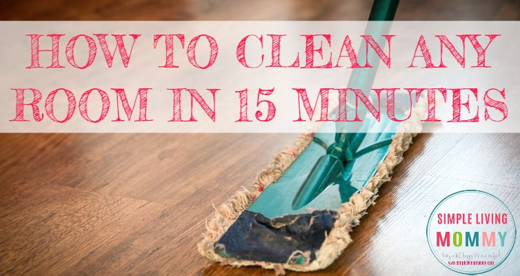 Is your house out of control? This mom developed a simple system to clean any room in just 15 minutes. This was a lifesaver when my landlord announced he was dropping by unexpectedly!