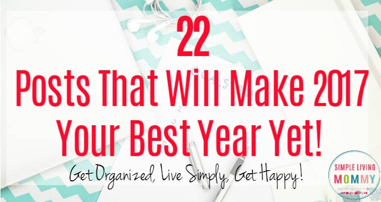 Whether you want to get organized, save money, or just be happier, there's something on this list for you! My favorite were the tips about procrastination! I really feel like these tips are going to help me in so many ways!