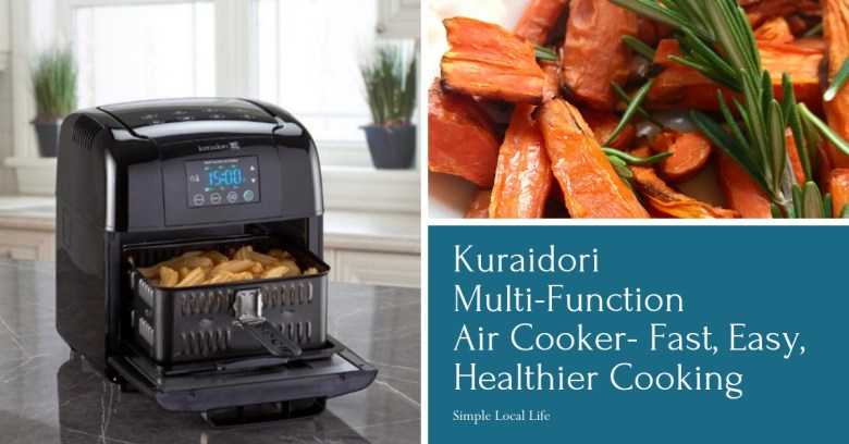 Kuraidori Multi Function Air Cooker Fast Easy Healthier