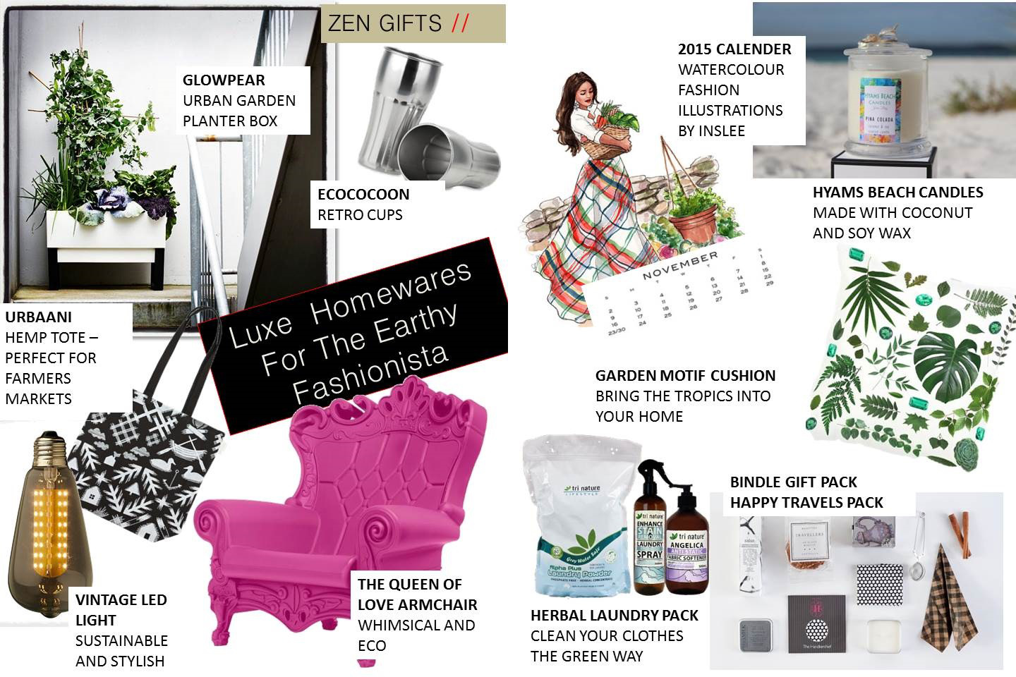 Gift Guide: Luxe Homewares For The Earthy Fashionista