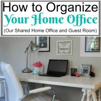 How To Organize Home Office. Home Office Organization ...