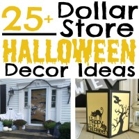 25+ Halloween Decor Ideas from the Dollar Store - Simple ...