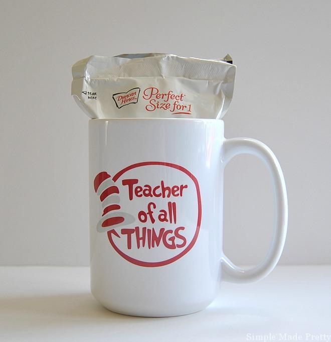 5 diy teacher mug