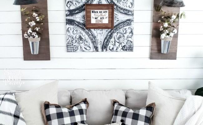 6 Diy Living Room Decor Ideas On A Budget Simple Made