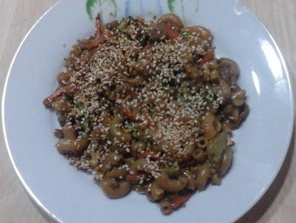 Recette de macaroni chinois trois fois par jour