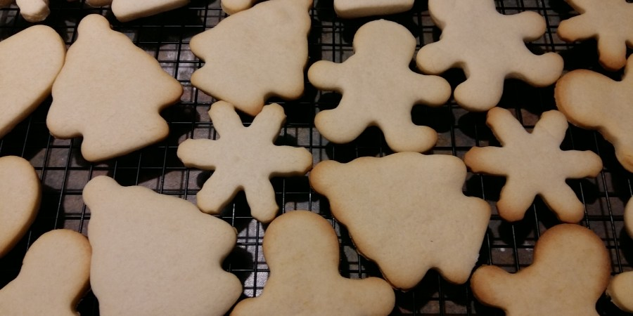 Biscuits au sucre et glaçage maison