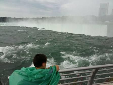 Visite à Niagara Falls Chute canadienne horseshoe Fer à cheval