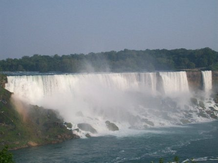 Visite à Niagara Falls Chutes américaines voile de la mariée Bridal Veil
