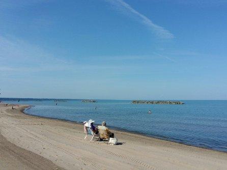 Résumé de notre voyage aux États-Unis - Plage Presque Isle State Park Lac Érié