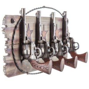 Crochets fait de pistolets