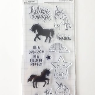 Clear Stamps - Unicorn Dream