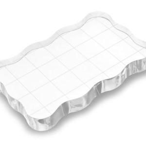 Bloc transparent pour étampes
