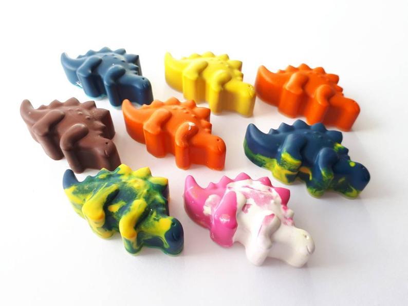 Crayons de cire Dinosaures